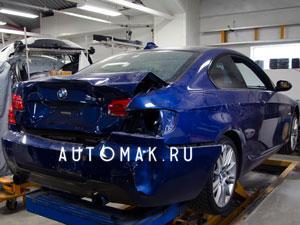 Кузовной ремонт BMW в Москве