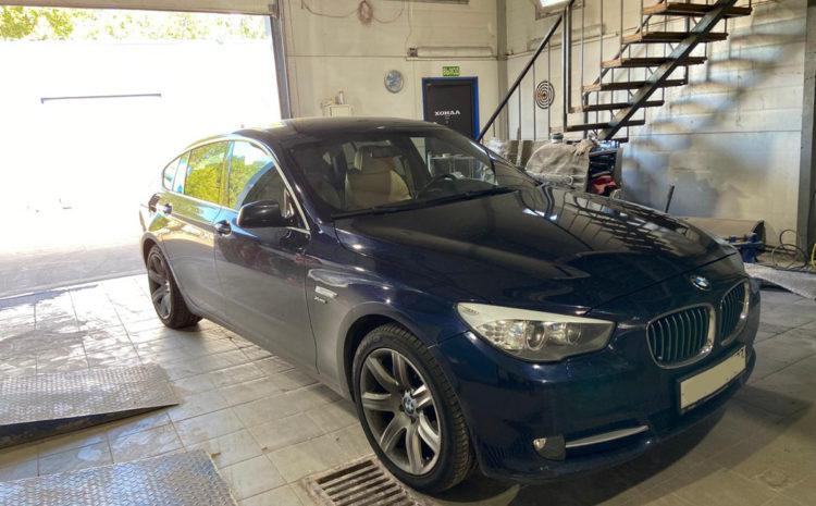 BMW 5-Series Gran Turismo 530d AT xDrive 2013 кузовной ремонт